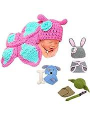Little Sweetz ** Disfraz de recién nacido para sesión de fotos, hecho con amor, diseño de ganchillo.