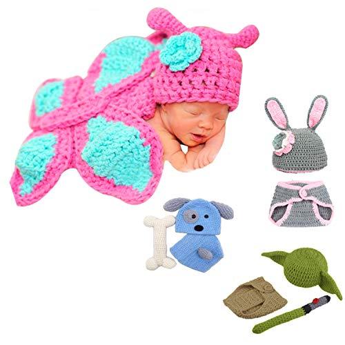 Little Sweetz ** Disfraz de recién nacido para sesión de fotos, hecho con amor, diseño de ganchillo (tortuga).