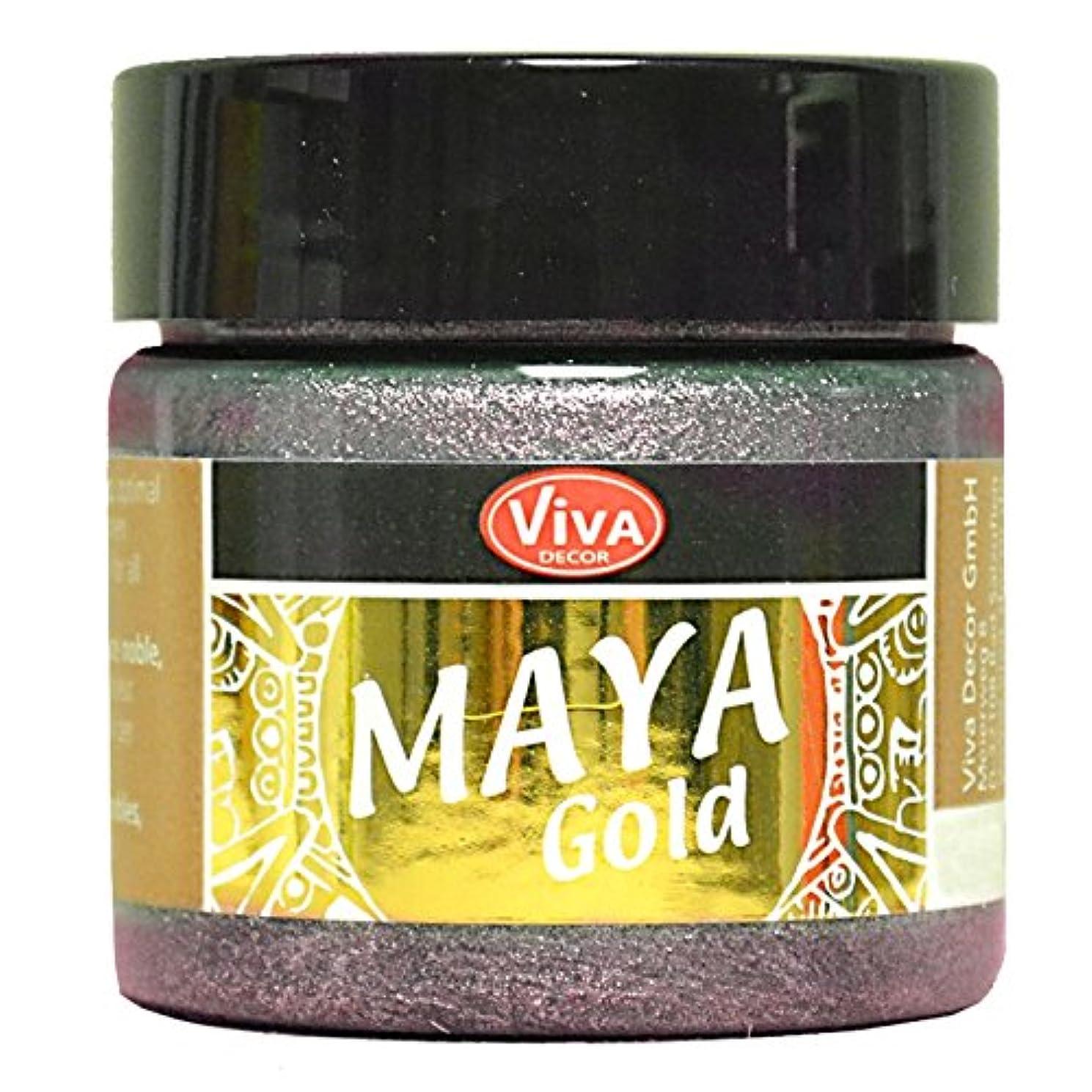 Viva Decor Maya Gold Paint, Acrylic, Purple/Mauve, Medium