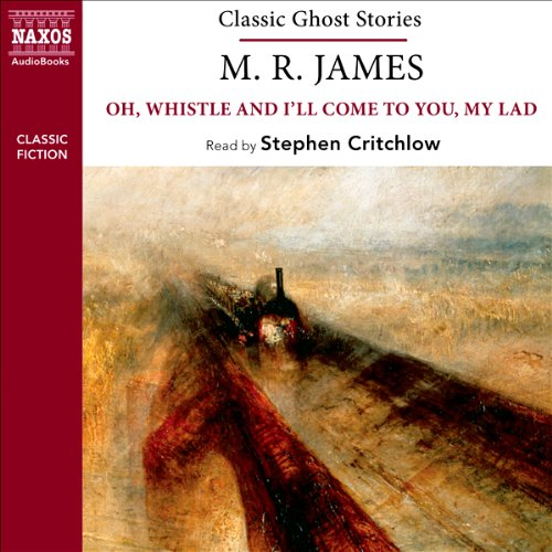 M. R. James audiobook cover art