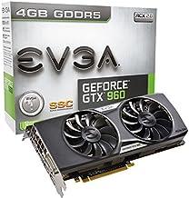 EVGA GeForce GTX 960 4GB SSC ACX 2.0+ Graphics Card 04G-P4-3966-KR