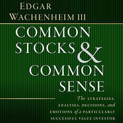 Common Stocks and Common Sense Titelbild