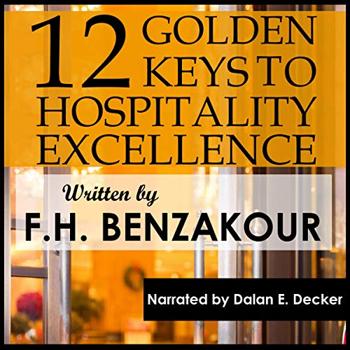 Couverture de 12 Golden Keys to Hospitality Excellence