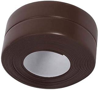 شريط سد للحوض وللجدار من كالايزينج شريط سداد للمطبخ مانع للتسرب لجدار الحمام، مقاوم للماء ذاتي اللصق، زخارف للديكور
