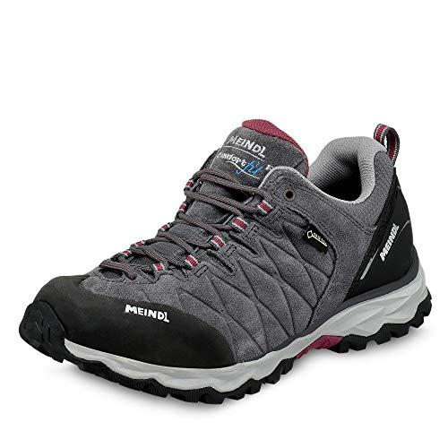 Meindl Damen Mondello GTX Schuhe, anthrazit-brombeer, UK 6