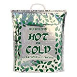 Hot Cold Food Bag (3 Pack) Reusable, Multipurpose Insulated Thermal Cooler for Warm Lunch Meals, Grocery/Fruit/Meat/Vegetables, Ice-cold Beers & Beverages | Keeps Frozen Up to 3 Hours