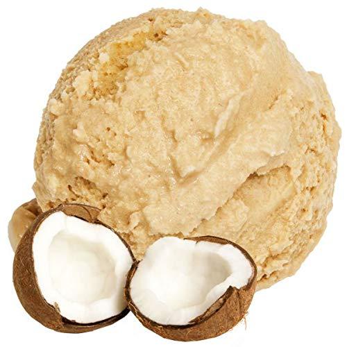 1 Kg Kokosnuss Geschmack Eispulver VEGAN - OHNE ZUCKER - LAKTOSEFREI - GLUTENFREI - FETTARM, auch für Diabetiker Milcheis Softeispulver Speiseeispulver Gino Gelati