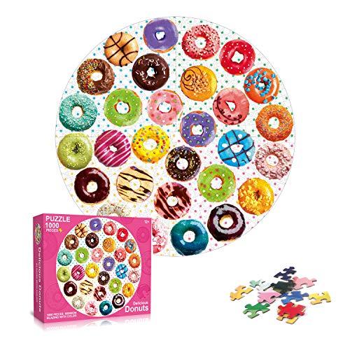 Galatée - Klassische Puzzles in Donuts, Größe 1000 pieces