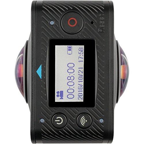 Kitvision 360 - Cámara de acción Sumergible con Wi-Fi Integrado, Color Negro, 360 Immerse Duo
