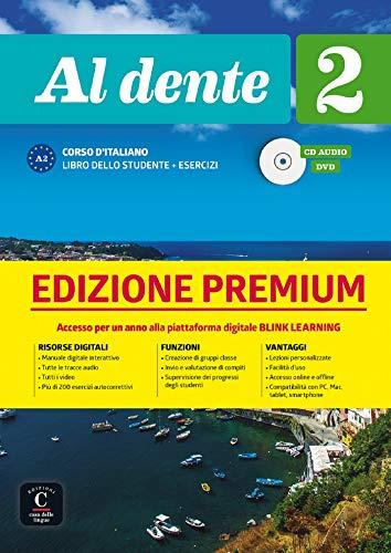 AL DENTE 2 LIBRO DELLO STUDENTE ESERCIZI PREMIUM A1 (ITALIEN NIVEAU ADULTE 5,5%)