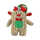 Midlee Christmas Corduroy Dog Toy (Reindeer)