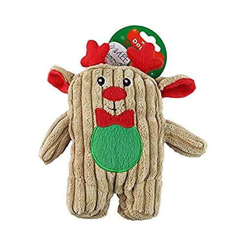 Midlee Christmas Corduroy Dog Toy