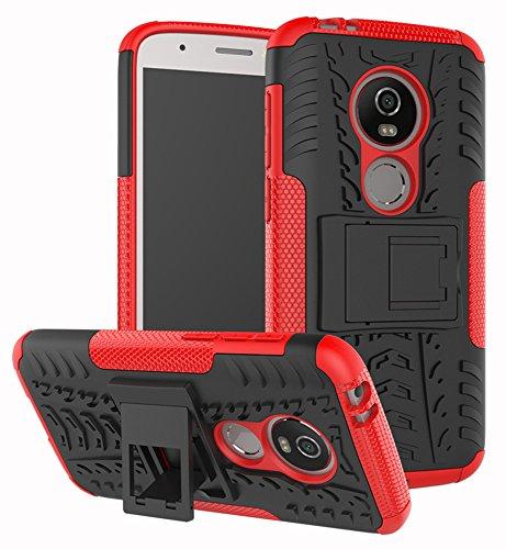 Moto E5 Play Case Moto E5 Cruise Case Yiakeng Dual Layer Shockproof Wallet Slim Protective