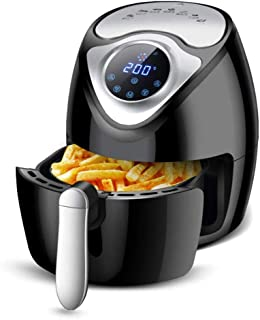 Air Fryer, 2.6L Air Fryer Friteuse à air chaud multifonction avec minuterie et température réglable, 7 fonctions prédéfini...