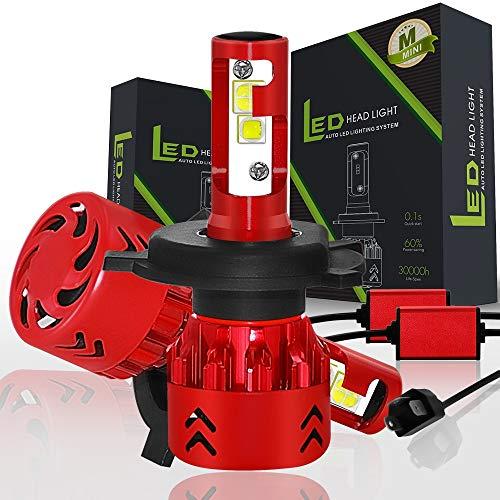 13000lm Coche LED FIGURO LIGHT CONFIGURACIÓN EN CREE CHIPS LED H7 H4 9003 HB2 H8 H9 H1 HB3 9005 H10 HB4 9006 12V 120W LED AUTO Bulbs Bombilla de seguridad (Socket Type : H7)