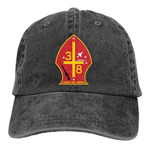 huatongxin 3rd Battalion 8th Marine Regiment of United States Mariners Corps Unisex Gorra de Beisbol Twill Adjustable Sombrero de Vaquero