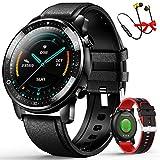 Smartwatch Offerta Del Giorno,Smartwatch per Uomo Donna con Cinturino di Ricambio Touchscreen,Cuffie...