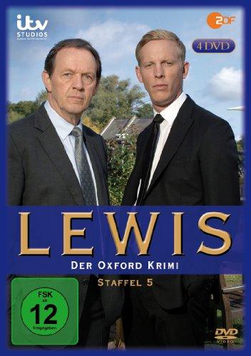 Lewis - Der Oxford Krimi: Staffel 5 [4 DVDs]