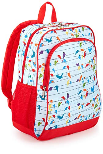 "Amazon Exclusive Kids Backpack, Birds (Compatible with Kids Fire 7"", 8"", and 10"" Tablet and Kindle Kids Edition)"