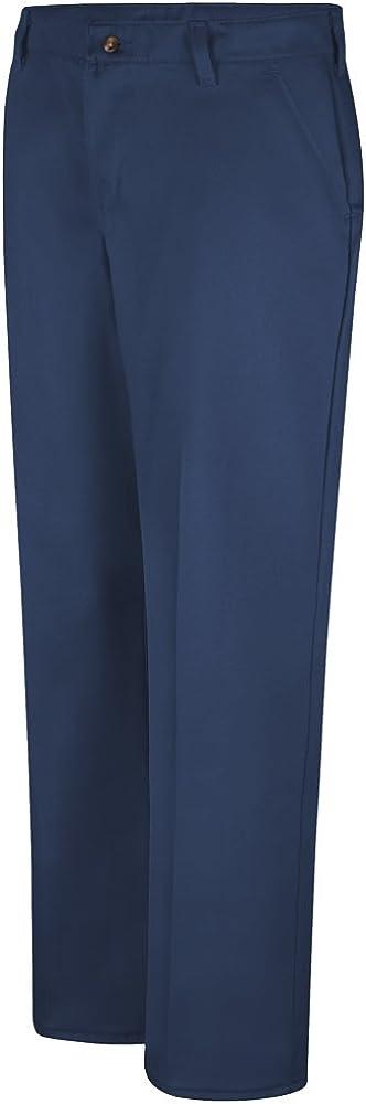 Red Kap Plain Front Cotton Pant, Women, PC45NV, 1434U