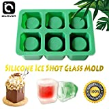 IC ICLOVER 6-cups Square Green Ice...