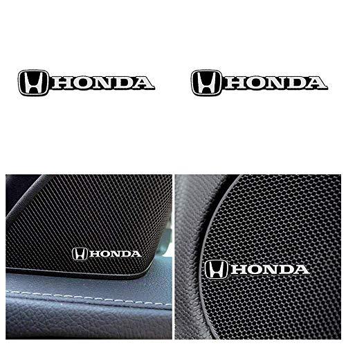 車のロゴホーンステッカー、スピーカーデカールステッカー、インテリア装飾アクセサリーの金属装飾ロゴバッジステッカー (ホンダ)