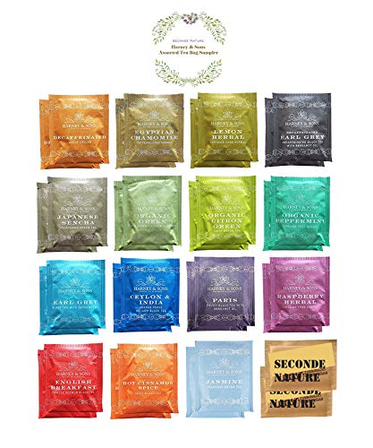 Harney amp Sons 15 Flavors Assorted Tea Sampler 30 Counts Great for Birthday Meeting and Gifts