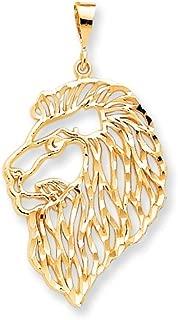 Best gold lion head charm Reviews