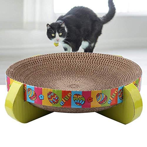 Cat Scratch Bed, Pets Cat Scratcher Lounge Gegolfd Cat Scratch Kartonnen bankstel Kitty Scratcher Lounge Kitty Krabpaal