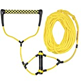 Obcursco Wakeboard Rope, Water Sport Line with EVA Handle. Ideal for Water ski, Wakeboard, Kneeboard (Wakeboard Rope 04)