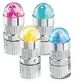 infactory Ballonlicht: Bunte LED Ballon-Blinker 4er-Set inklusive Luftballons (LED Ballon Lichter)