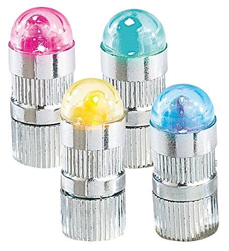 Infactory LED ballon lampen: Kleurrijke LED ballon knipperlichten set van 4 inclusief ballonnen (LED knipperlicht)