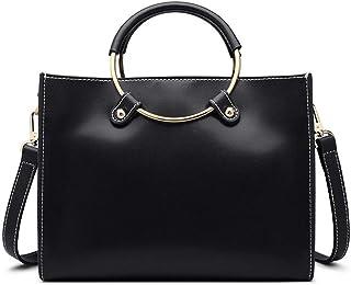 Shoulder Bag Women's Ring Tote Bag Joker Simple Shoulder Messenger Bag Handbag Clutch (Color : C, Size : 25 * 11 * 19.5 * 7)