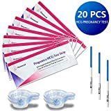 20 x Mommood Highly Sensitive précoces de grossesse bandelettes (HCG)/ Fertility...