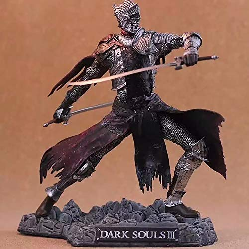 AIYL Dark Souls Ⅲ Anime-Abbildung Modell Rote Ritter Statue Handgemachte Dekoration Sammler 26CM