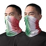 HYSENM fan articolo Italia bandana fazzoletto da collo EM 2020 set ventilatore tubo sciarpa bandiera bandiera campionato europeo