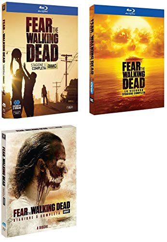 FEAR THE WALKING DEAD - Stagioni 1-2-3 (9 Blu-ray)