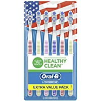 6-Count Oral-B Healthy Clean Medium Bristles Toothbrushes