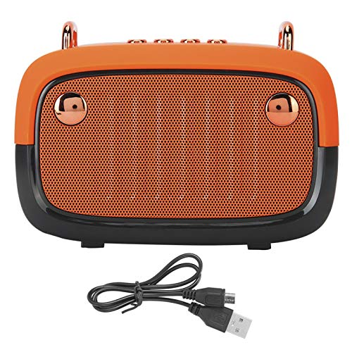 HaoZUyouxuankj Altavoz Bluetooth, altavoz inalámbrico Bluetooth, tarjeta de enchufe al aire libre bajo conveniente caja de altavoz al aire libre mejorada