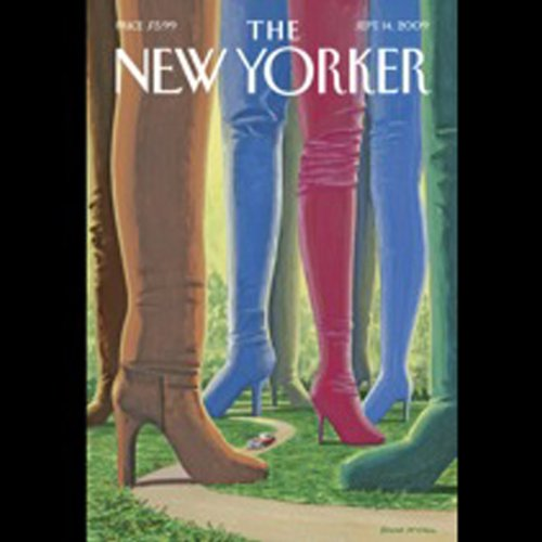 The New Yorker, September 14, 2009 (Dana Goodyear, Alexandra Jacobs, Judith Thurman) cover art