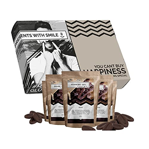 Set de regalo de chocolate para el Día de la Madre: 5 chocolates de todo el mundo Idea de regalo de viaje mundial para madres abuela regalos de chocolate mujeres amantes de chocolate