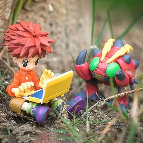 KaiWenLi Digimon Adventure IZUMI KOUSHIRO And Tentomon Anime Character Model PVC Figure Statue Collectibles/adult Toys For Anime Fans And Otaku