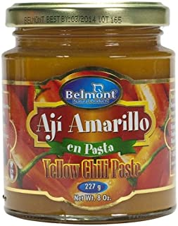 Belmont Aji Amarillo Hot Yellow Pepper Paste (7.5 oz/220 g)