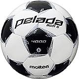 モルテン(molten) サッカーボール 5号球 中学生以上 検定球 ペレーダ4002 ホワイト×メタリックブラック F5L4002 【2020年モデル】
