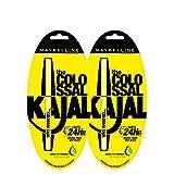 Maybelline New York Colossal Kajal, Black, 0.35g (Pack of 2 at 30% off)