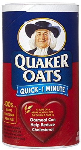 Quaker Standard Oatmeal Quick  18 oz