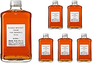 Nikka Whiskey from the Barrel 51,4 % vol Spar-Set 6 x 0,5 Liter