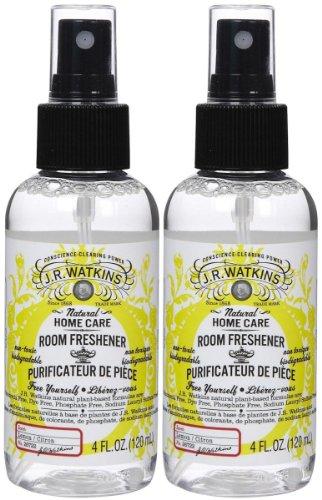 J. R. Watkins Room Spray - Lemon - 4 oz - 2 pk