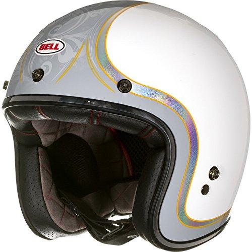 Bell Motorradhelme Street Custom 500 SE Adult Helm, Headcase Cue Ball, XXL