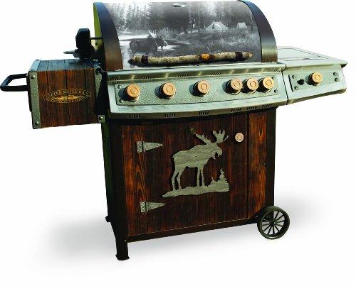 Big Sale Teton HCC100HG Heritage 7 Burner Gas Grill